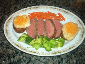 ChateauBriand with Marchand De Vin Sauce